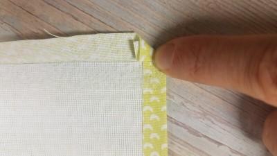 Quiet Book Patterns Preparing Pages Fabric UNI Instructions Step 8.1
