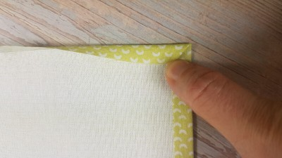 Quiet Book Patterns Preparing Pages Fabric UNI Instructions Step 8.2