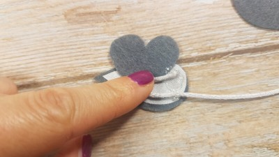 Quiet Book Patterns Mouse & Cheese Instructions Step 4.1