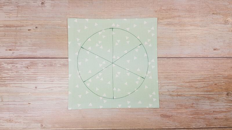 Quiet Book Patterns Watermelon No-sew Instructions Step 2