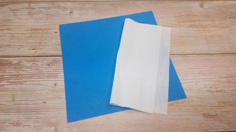 Quiet Book Felt Page Preparation Materials