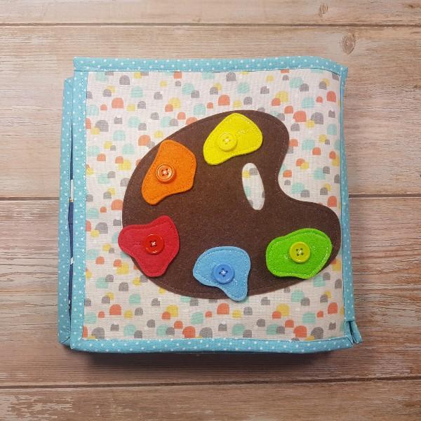 Quiet Book Patterns Color Pallete