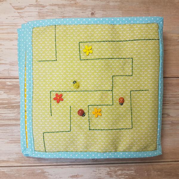 Quiet Book Patterns Ladybug Maze