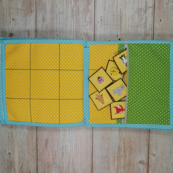 Quiet Book Patterns Memory Game