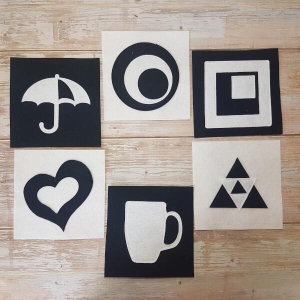 Quiet Book Patterns Montessori Cards 1
