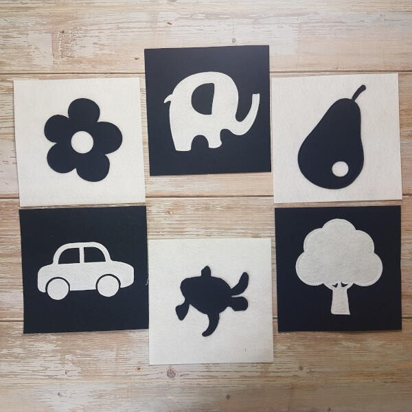 Quiet Book Patterns Montessori Cards 2