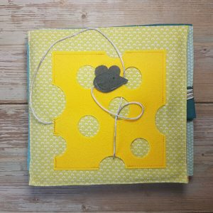 Quiet Book Patterns Mouse & Cheese