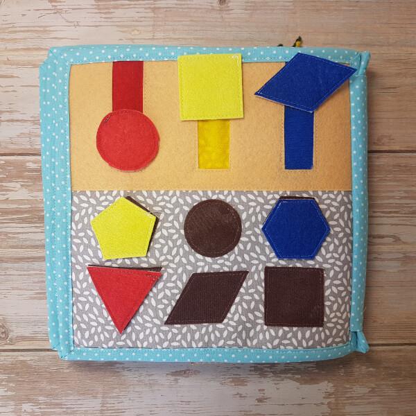Quiet Book Patterns Shapes & Colors