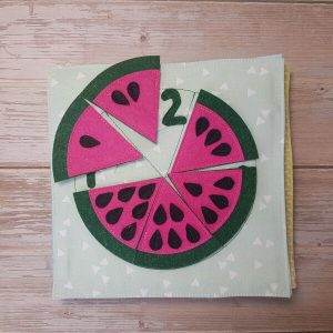 Quiet Book Patterns Watermelon