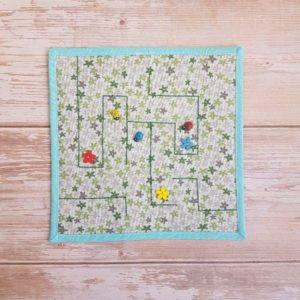 Ladybug Quiet Book Maze PAge