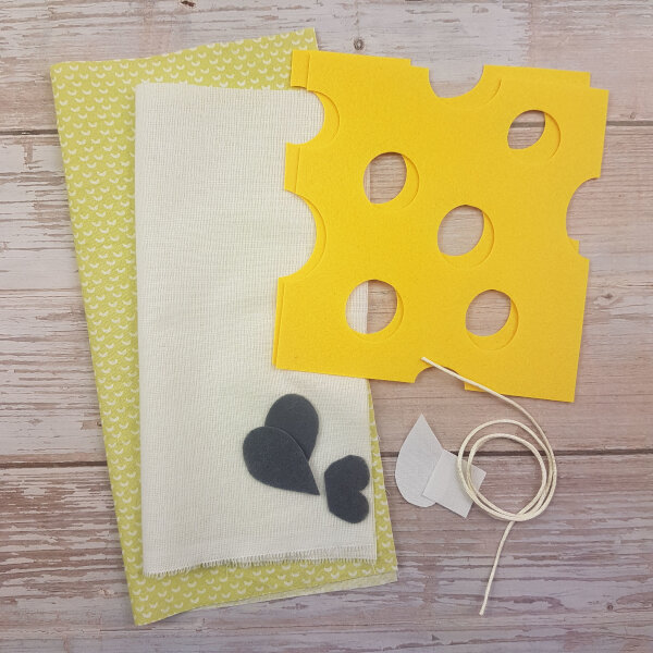 sewing mouse DIY quiet book kit