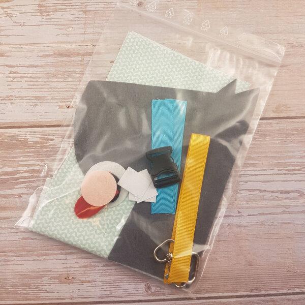 sewing dog DIY quiet book kit