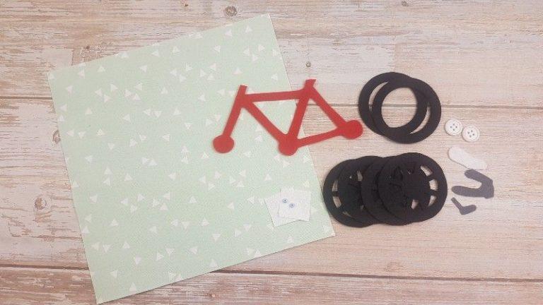 Quiet Book Bicycle MAterials