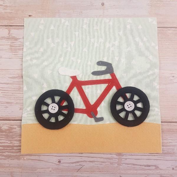 Quiet Book Bicycle