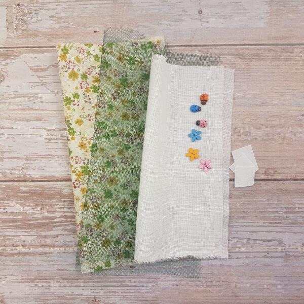 sewing ladynug maze DIY quiet book kit