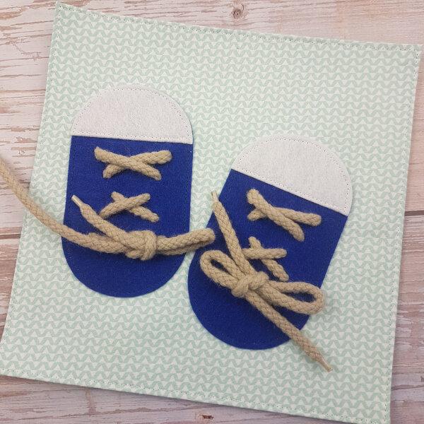 quiet book kits for sale - shoes