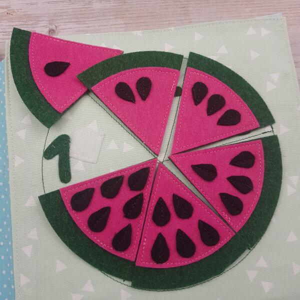 quiet book kits for sale - watermelon