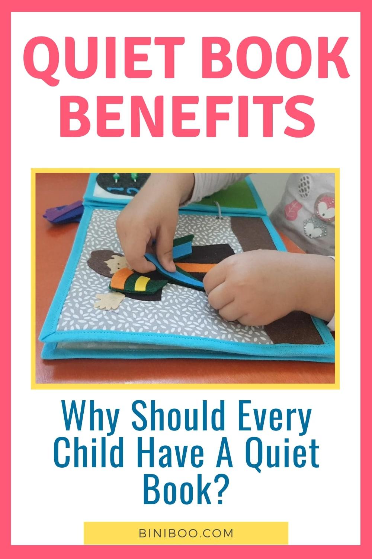 quiet book benefits