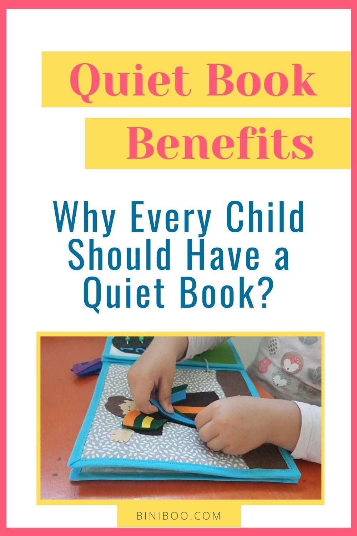 quiet book benefits pin