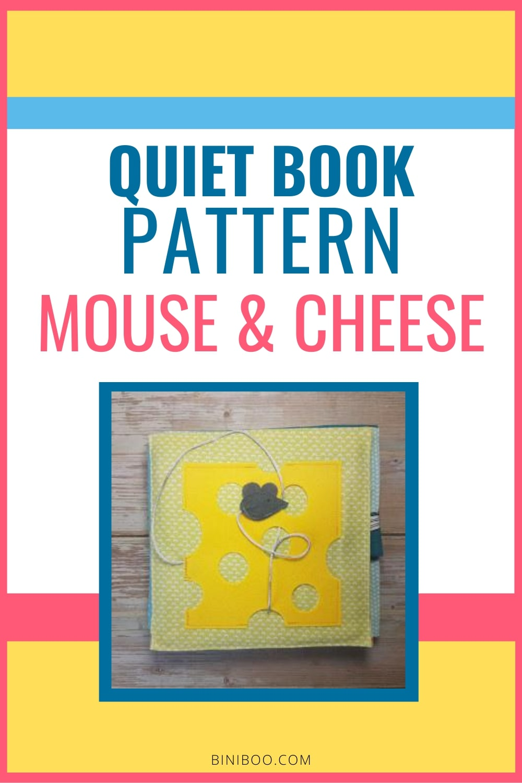 Quiet Book Activity Mouse
