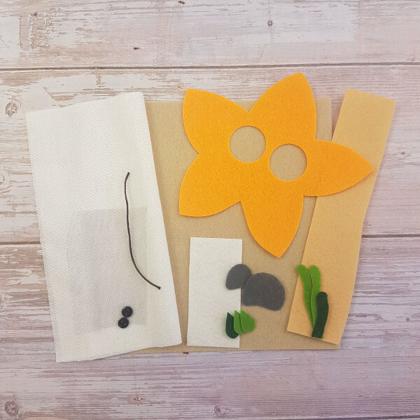 starfish no sew DIY quiet book kit