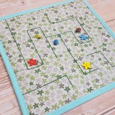 Ladybug Quiet Book Maze Page (2)