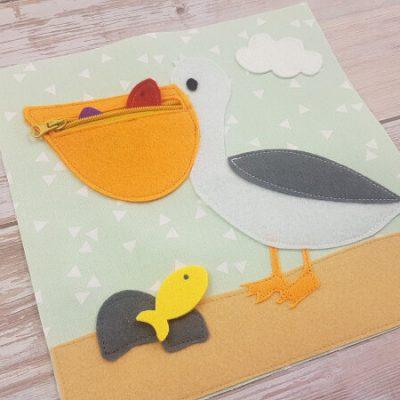 Quiet Book Pattern Pelican